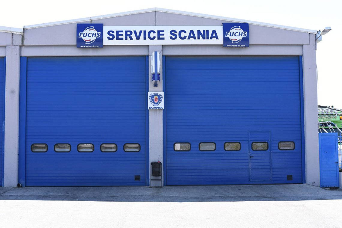 service scania pieria greece